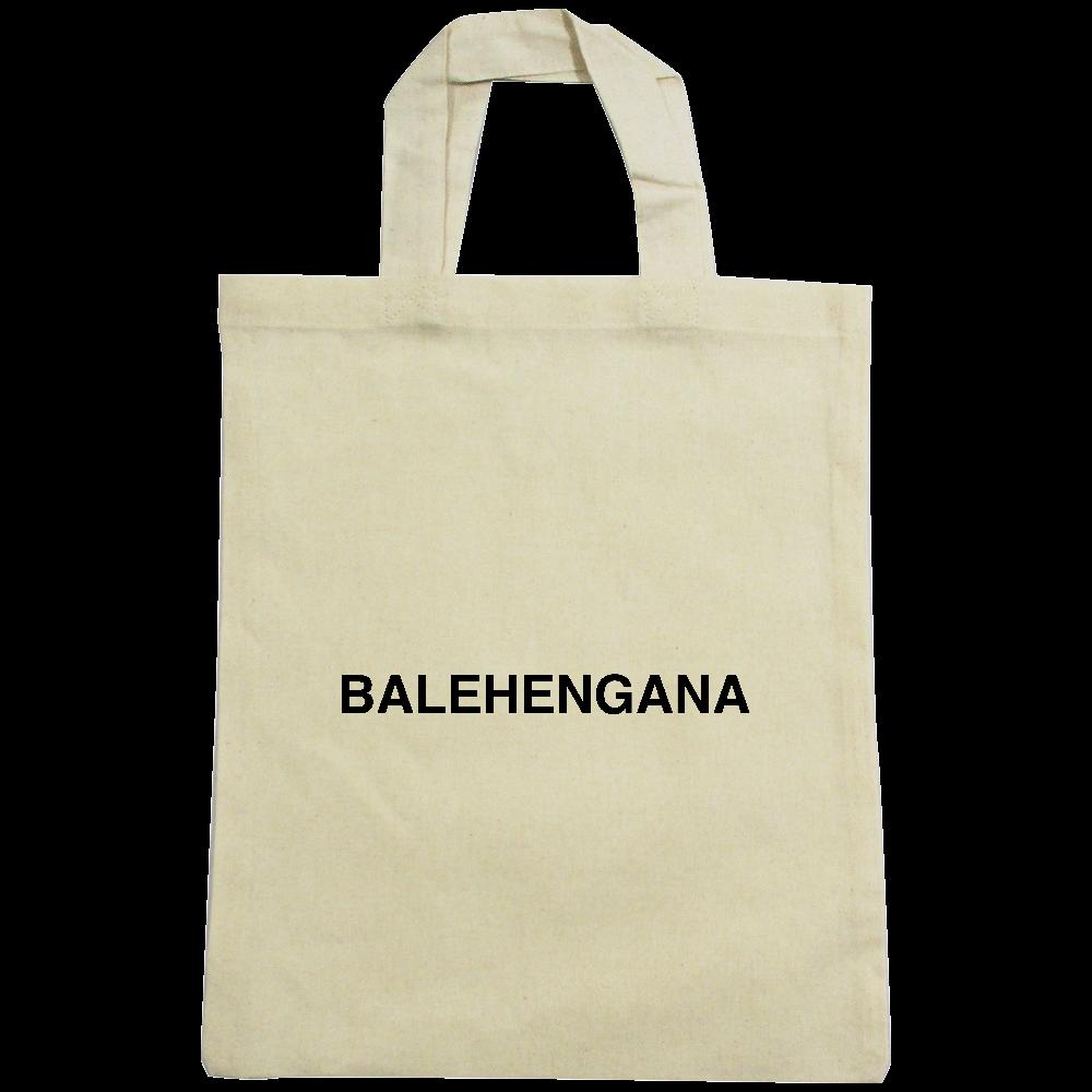 BALEHENGANA -バレヘンガナ ばれへんがな 黒ロゴ A4コットンバッグ