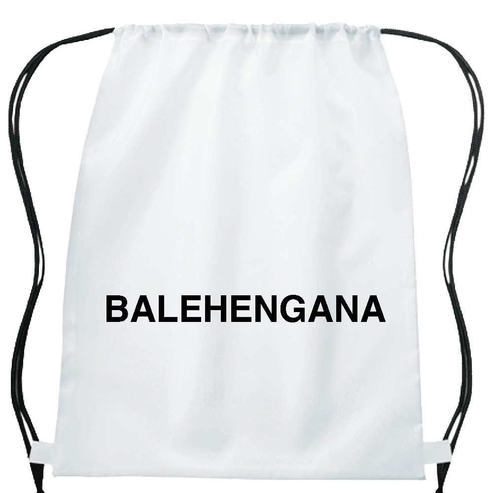 BALEHENGANA -バレヘンガナ ばれへんがな 黒ロゴ イベントリュック
