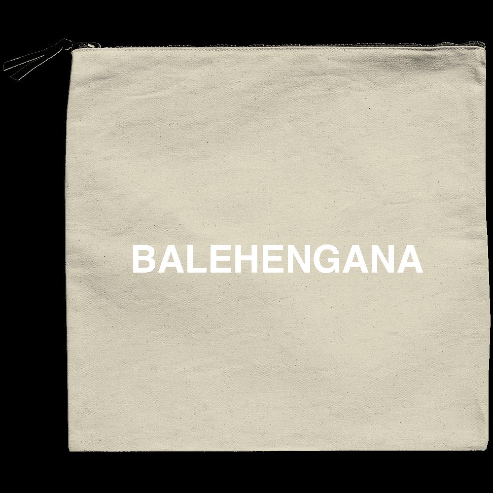 BALEHENGANA -バレヘンガナ ばれへんがな 白ロゴ クラッチバッグ