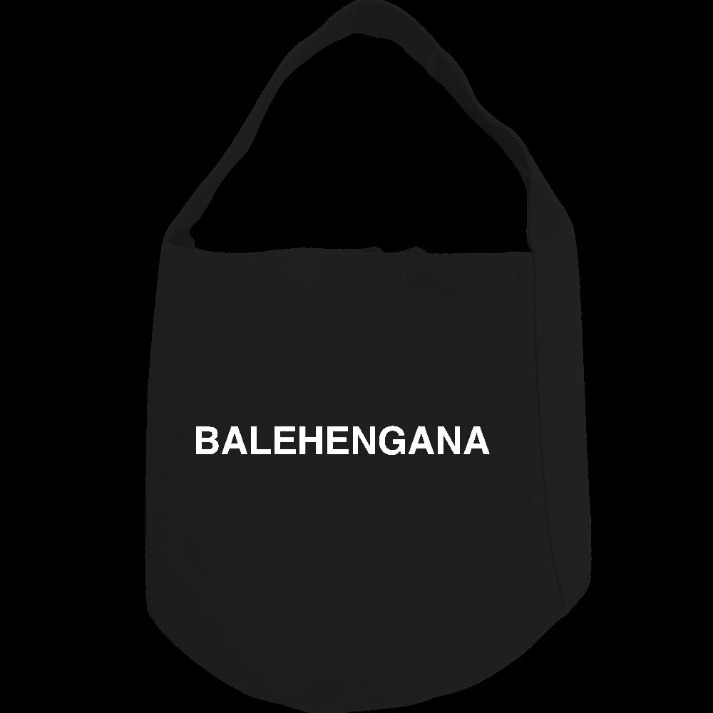 BALEHENGANA -バレヘンガナ ばれへんがな 白ロゴ ヘヴィーキャンバス ワンショルダーバッグ