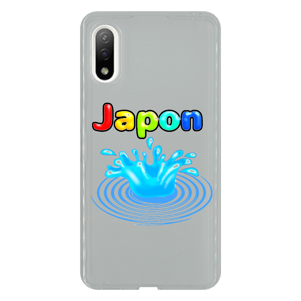 じゃぽ〜んJAPAN Xperia Ace II SO-41B TPUケース