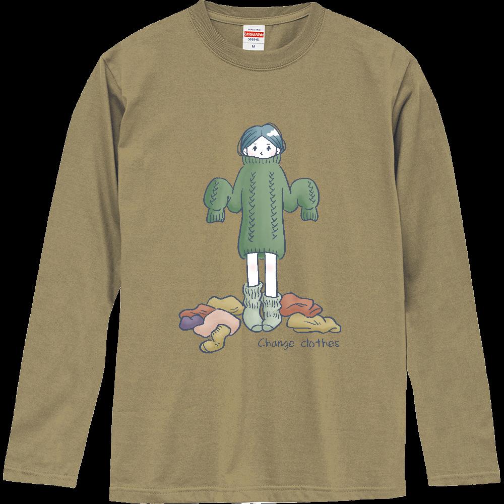 Change clothes ロングスリーブTシャツ