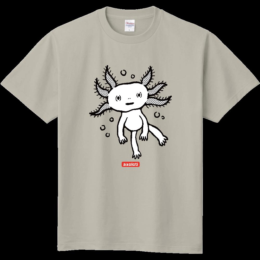 おとぼけ顔のウパさん_モノクロver 定番Tシャツ
