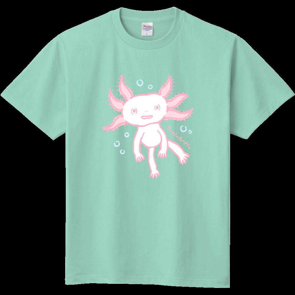 おとぼけ顔のウパさん_ピンクver 定番Tシャツ