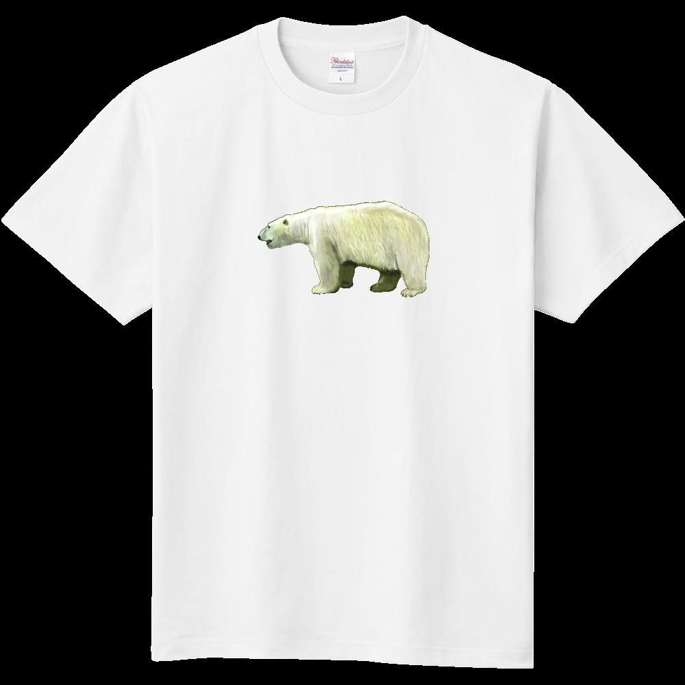 シロクマ-01B 定番Tシャツ