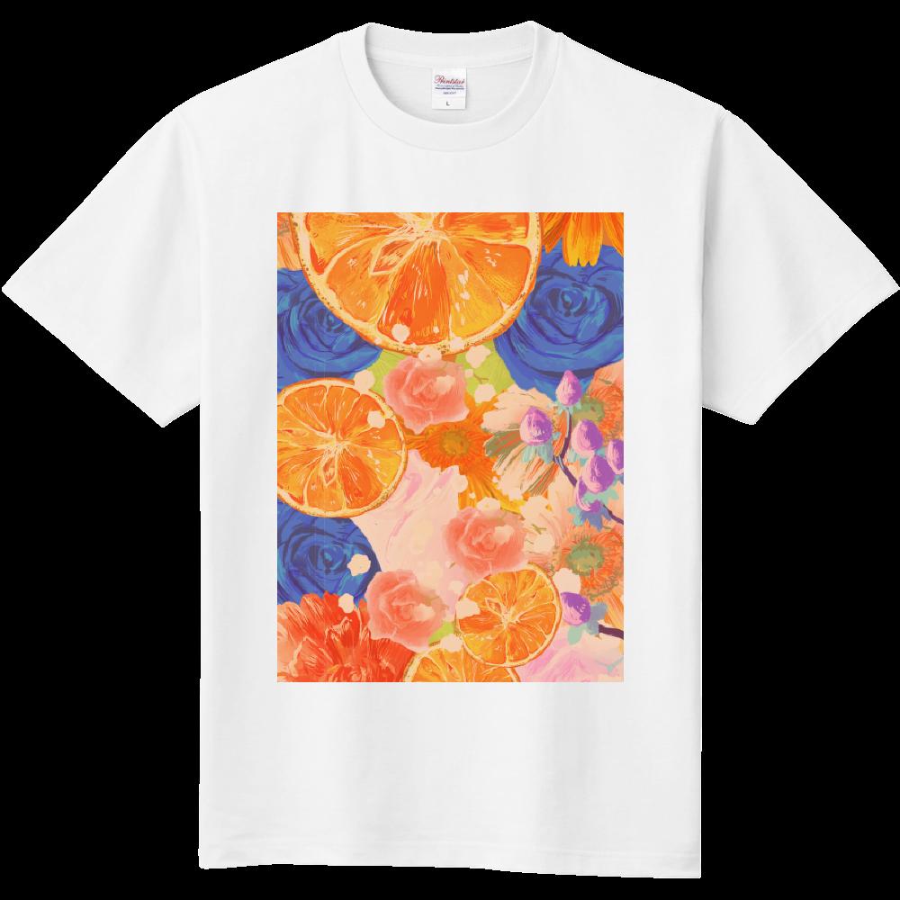 Flowersデザイン  定番Tシャツ