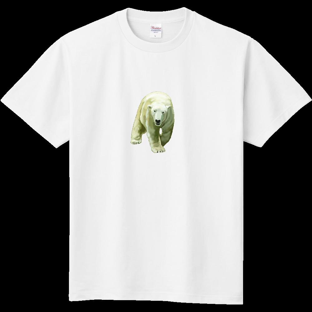 シロクマ-01A 定番Tシャツ
