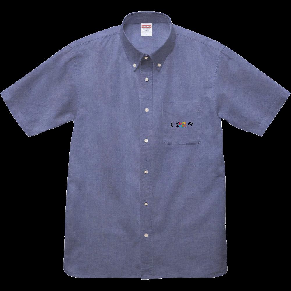 mini4x4 オックスフォードボタンダウンショートスリーブシャツ