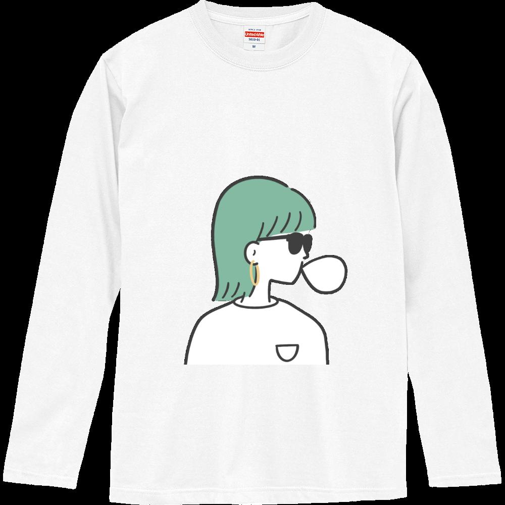 バブルガム ロングスリーブTシャツ