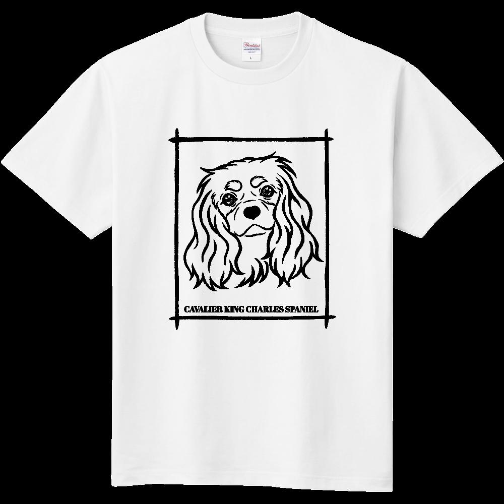 キャバリア ブラックタン 定番Tシャツ