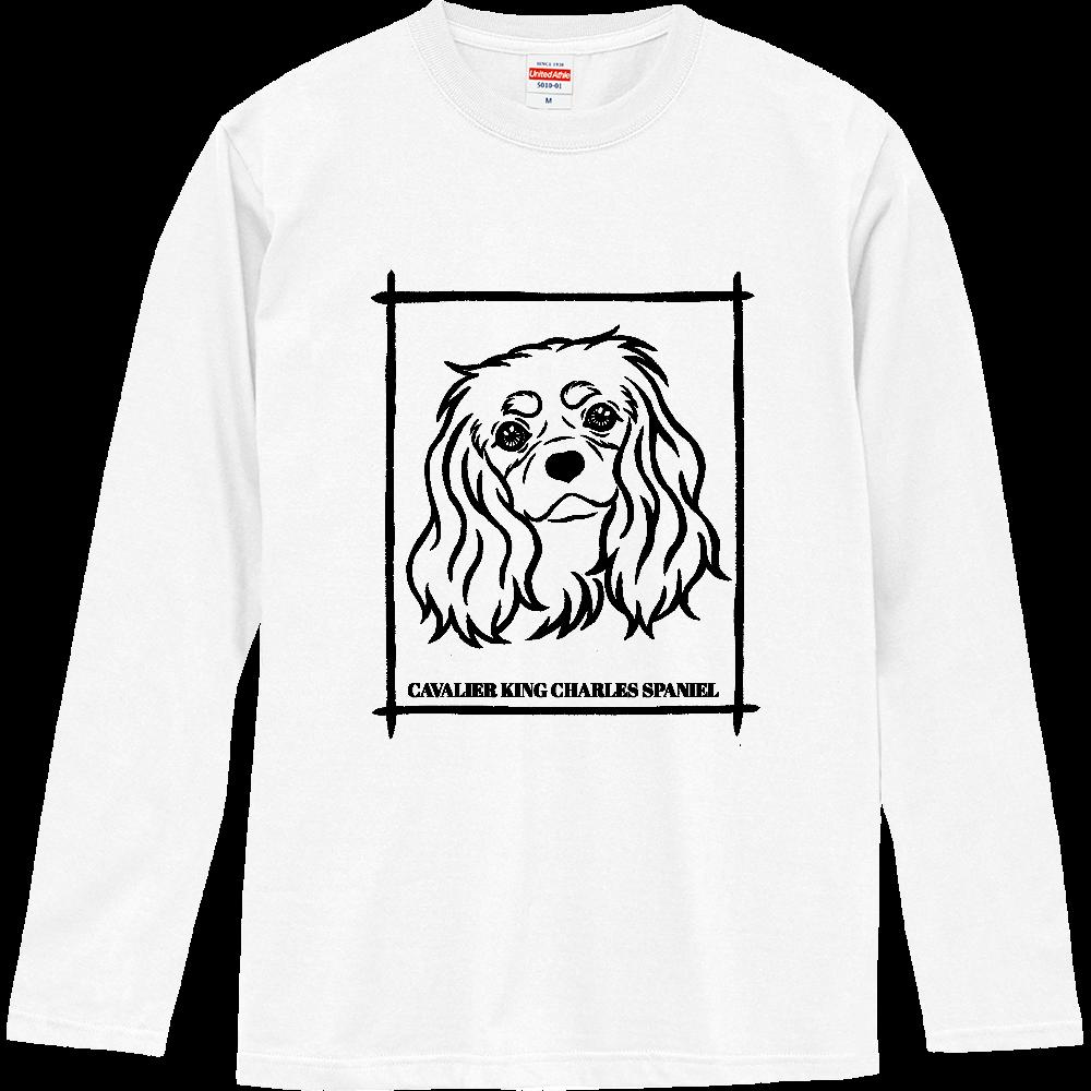キャバリア ブラックタン ロングスリーブTシャツ