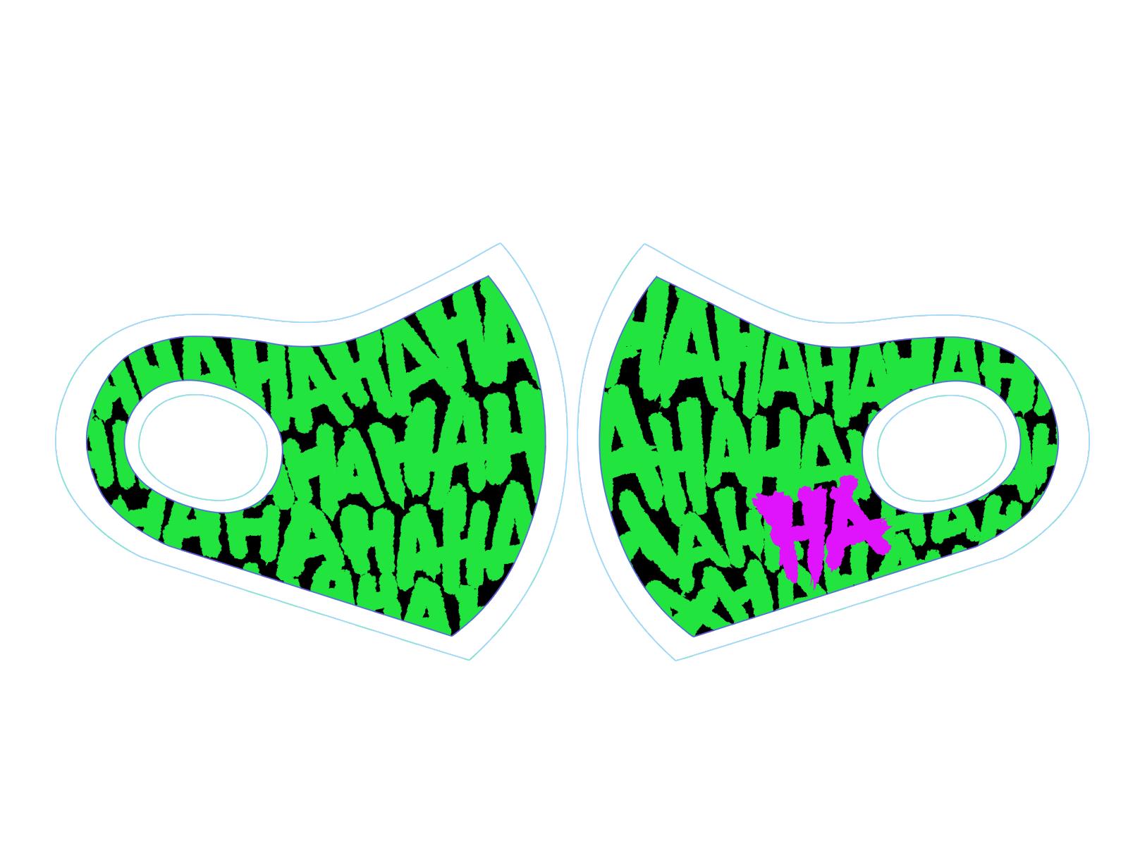 ヴィランマスク「HAHAHAHA」 スポーツマスク