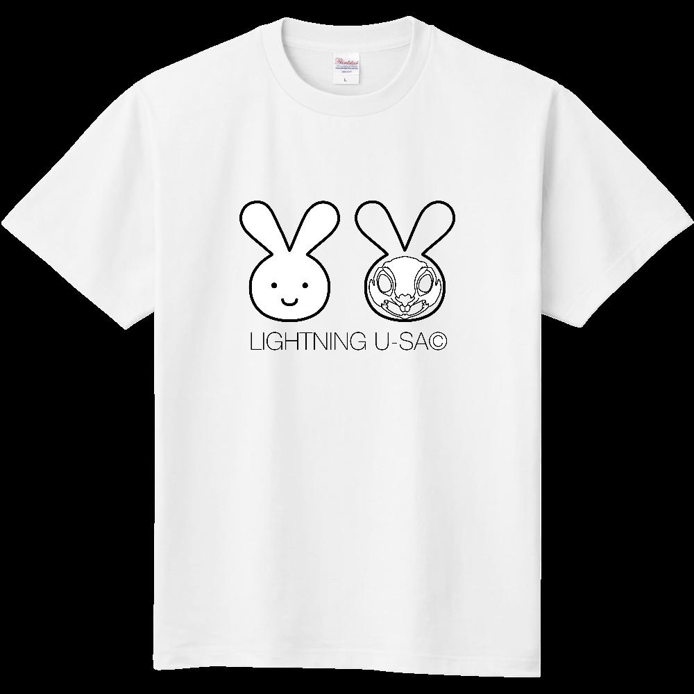 ライトニングうさちゃんTシャツ 定番Tシャツ