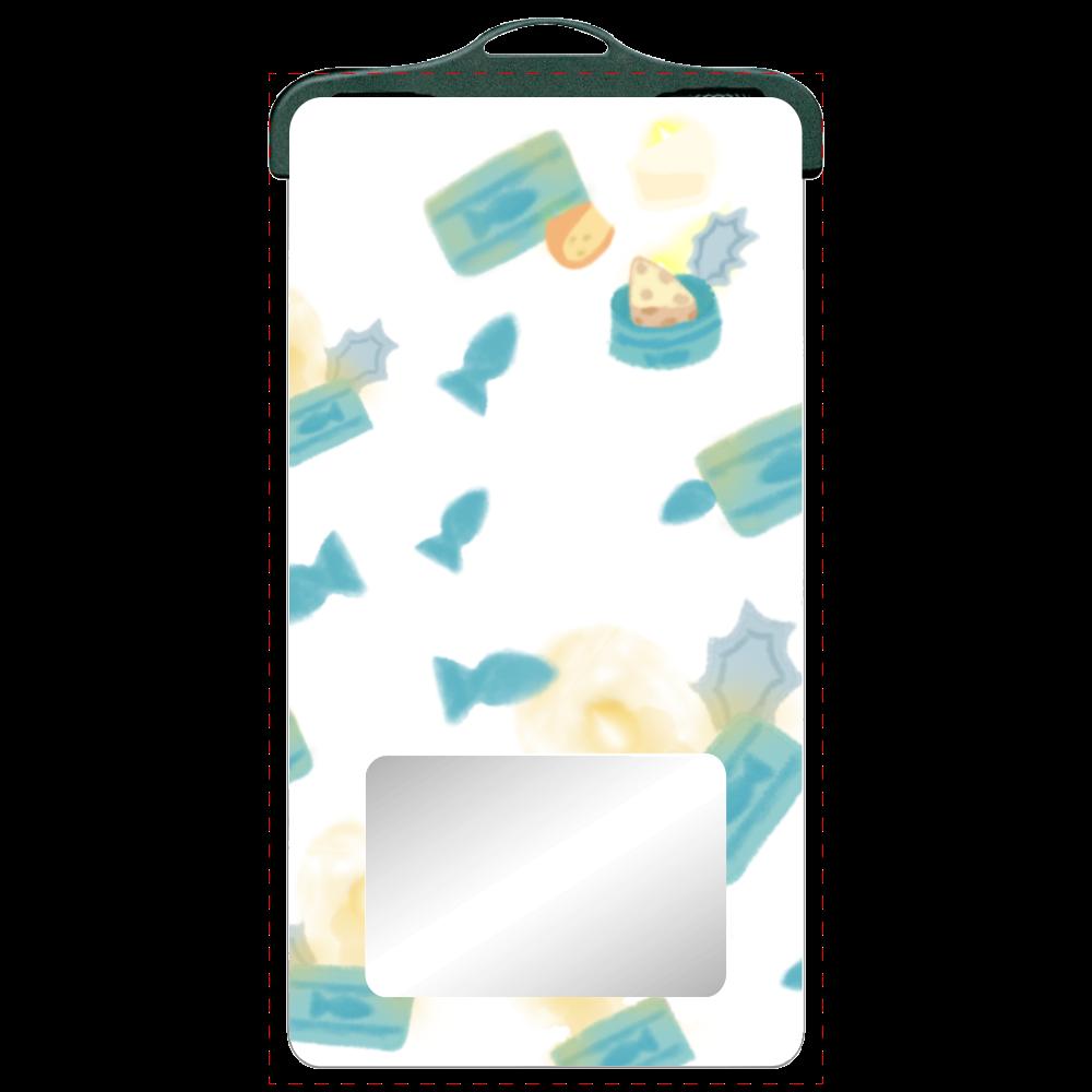 大好きな猫缶♡(iPhone抗菌ソフトケースも選べます♡) SPC06(防水スマホケース)