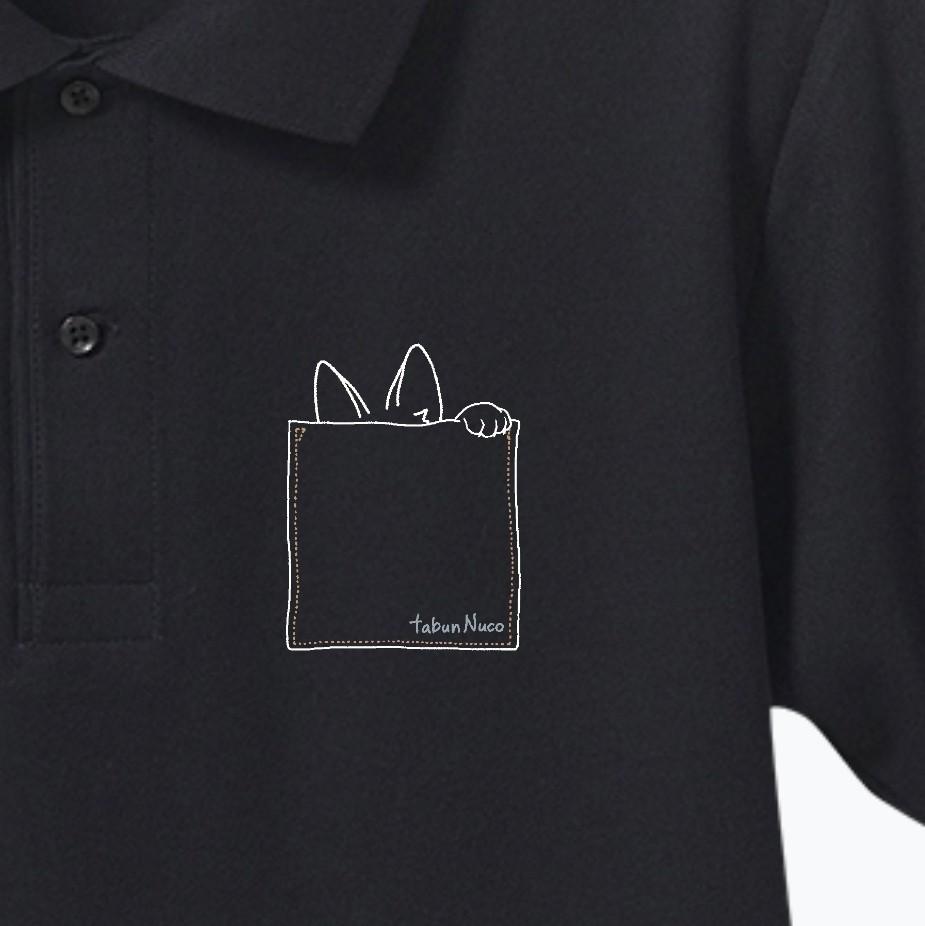 tabun Neko(むねポケット)/darkcolor/ドライカノコユーティリティーポロシャツ ドライカノコユーティリティーポロシャツ