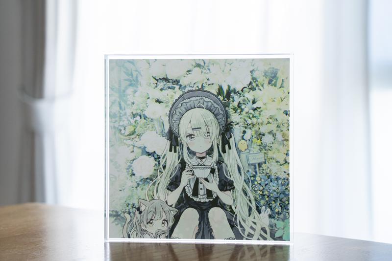 寡黙少女と秘密の花園 アクリルブロック アクリルブロック