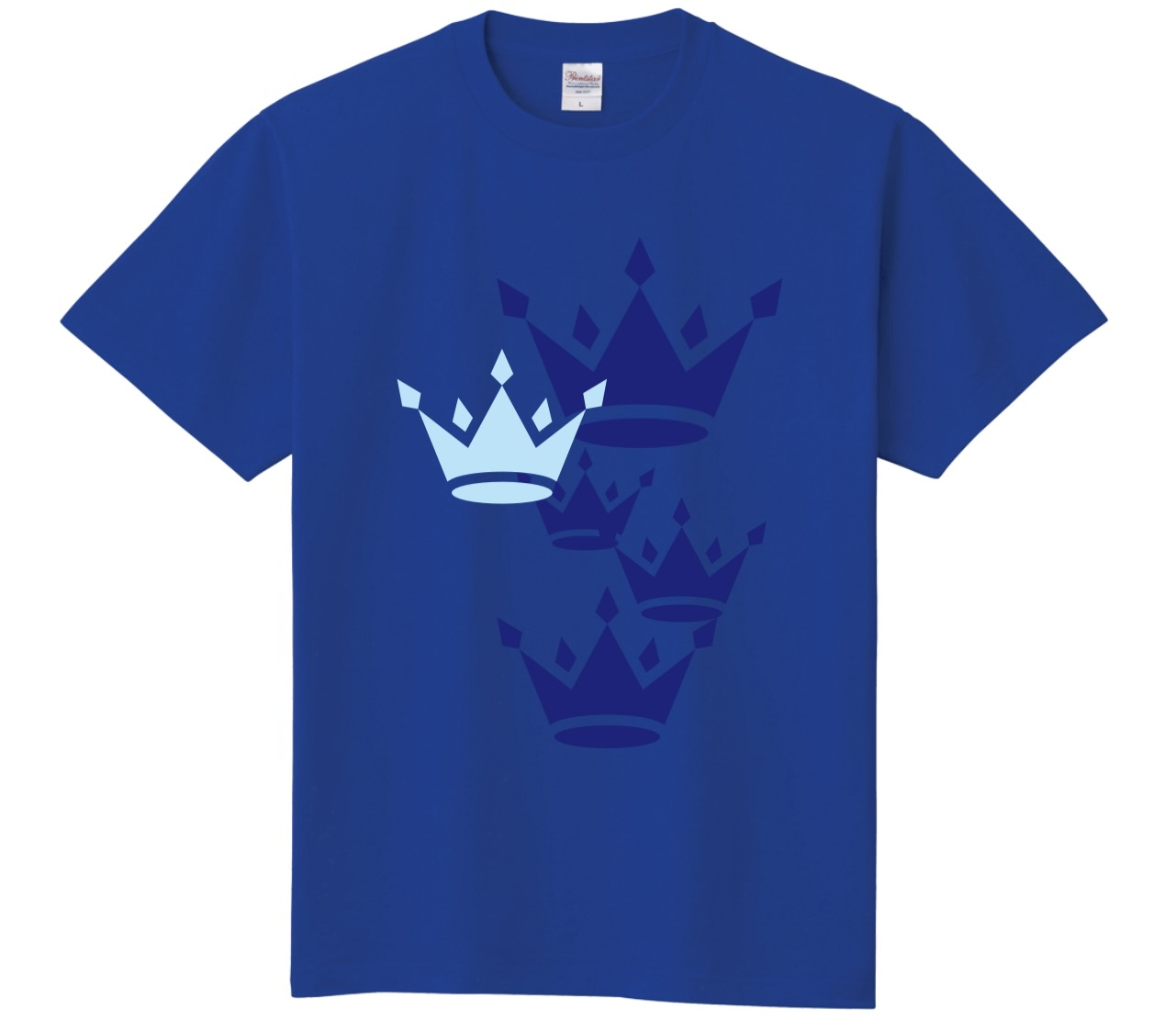 「Blue : Sappfire」 No.02 定番Tシャツ