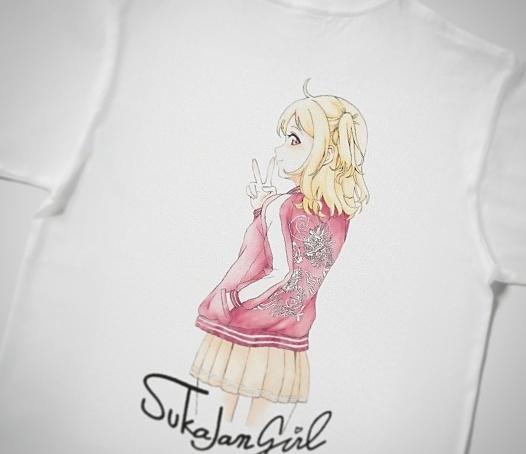 スカジャンガール 半袖Tシャツ 定番Tシャツ