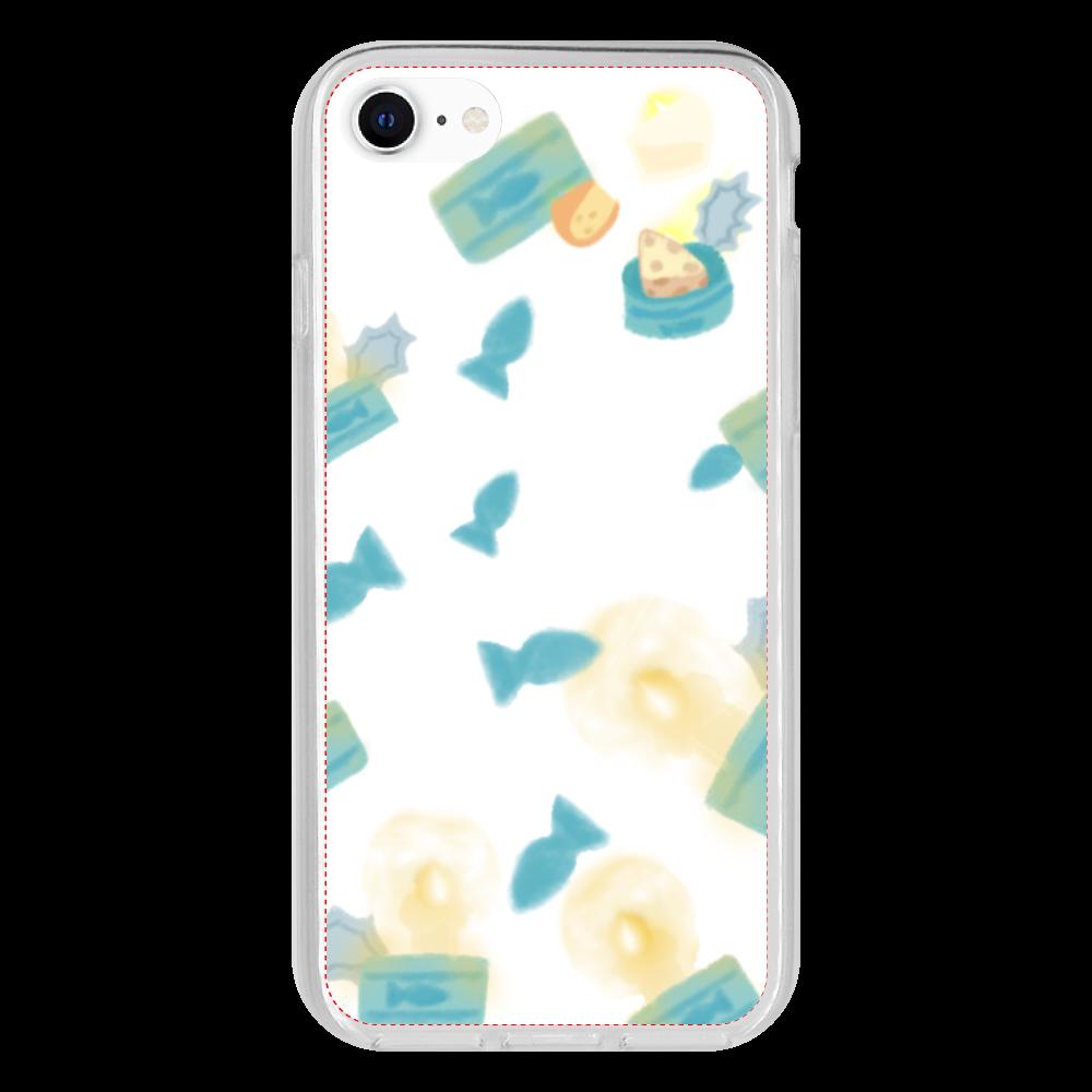 大好きな猫缶♡選べる♡iPhone抗菌ソフトケース♡(防水スマホケースも選べます♡) iPhone 8 抗菌ソフトケース