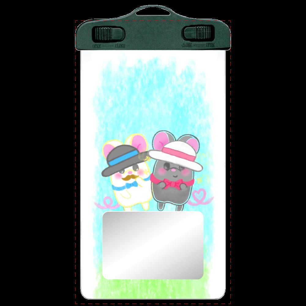 ねずみのテオとワトソン❁(iPhone抗菌ソフトケースも選べます♡) SPC06(防水スマホケース)