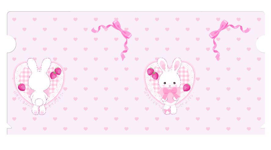 Heartful Rabbit マスクケース マスクケース