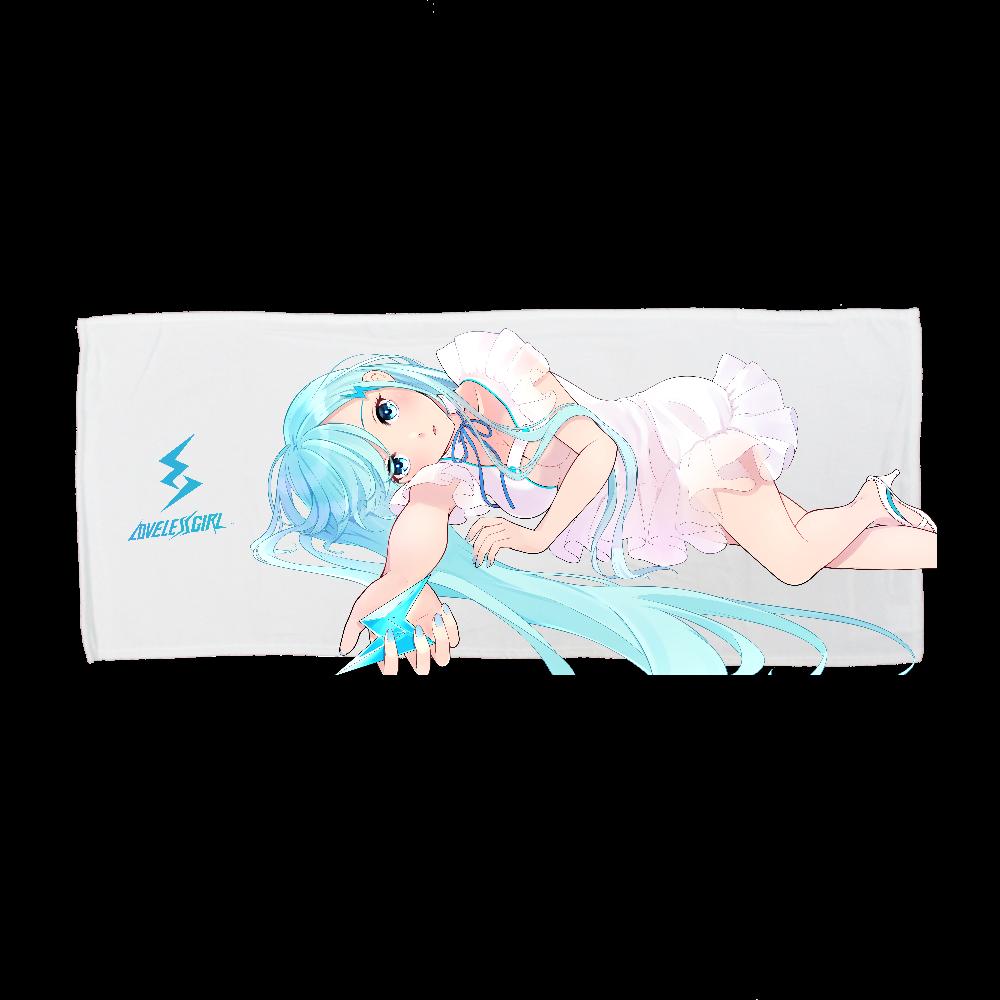 LoveLessGirl ガル美 オリジナル キャラクター バスタオル 全面インクジェットフェイスタオル