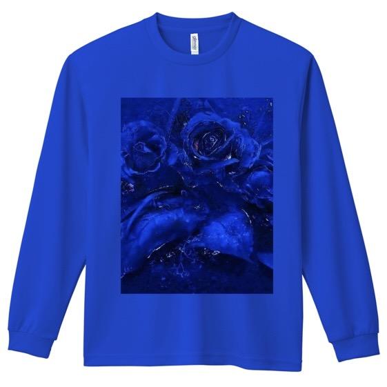 「Blue : Sappfire」 No.03 ドライ長袖Tシャツ