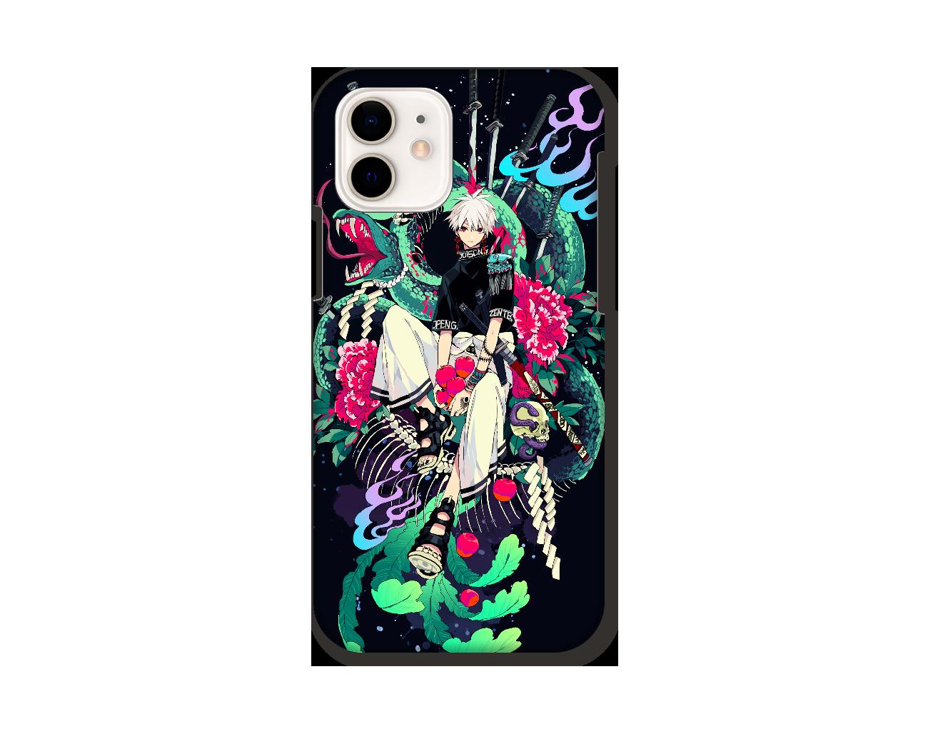 毒蛇 スマホケース iPhone12 / 12 Pro