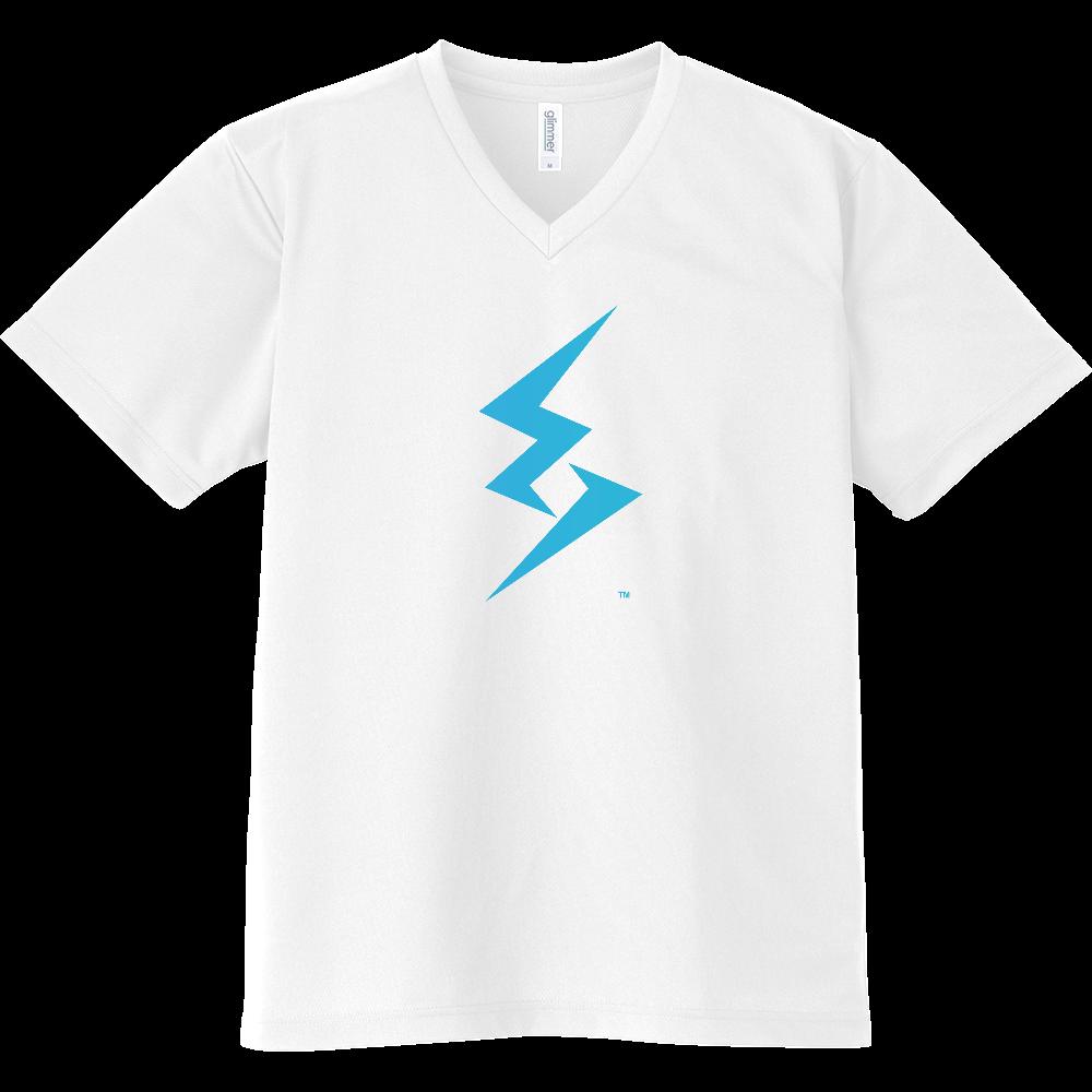 LoveLessGirl オリジナル ロゴ シャツ ドライVネックTシャツ
