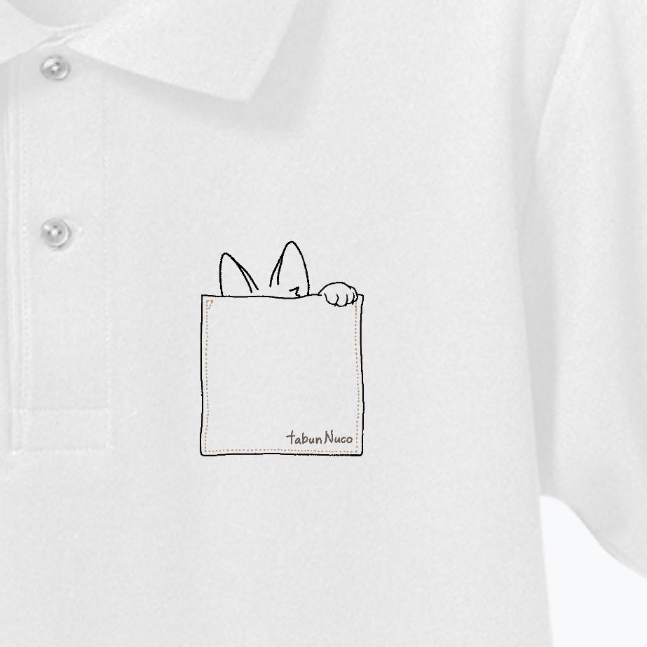 tabun Neko(むねポケット)/ドライカノコユーティリティーポロシャツ ドライカノコユーティリティーポロシャツ