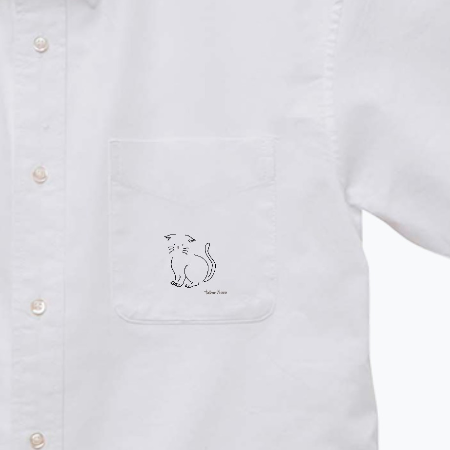 tabun Neko(たれみみ)/オックスフォードボタンダウンショートスリーブシャツ オックスフォードボタンダウンショートスリーブシャツ