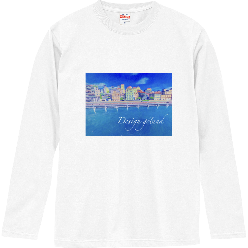 海の見える街 ロングスリーブTシャツ ロングスリーブTシャツ