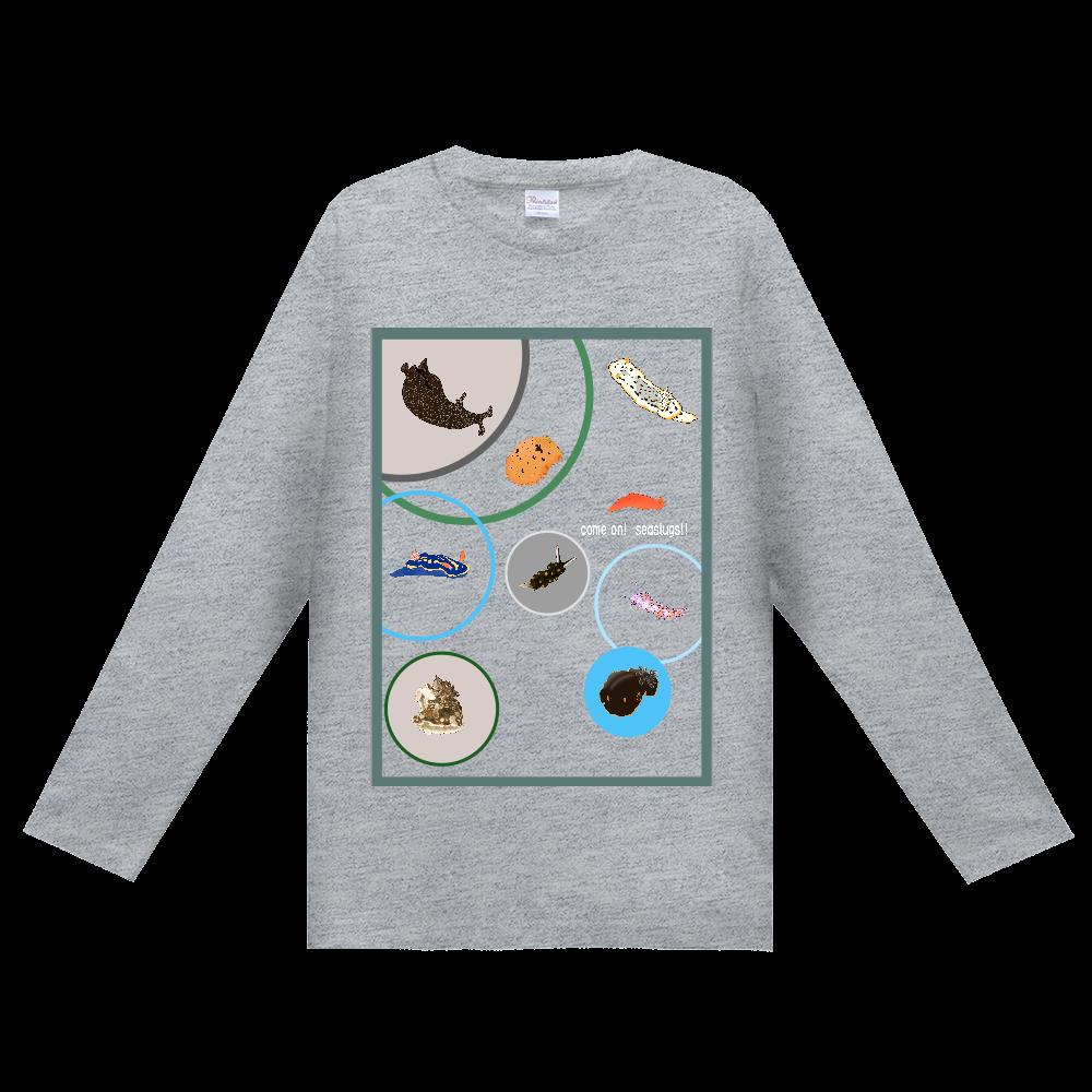 ウミウシTシャツ Ver.1 (長袖)カラー ヘビーウェイト長袖Tシャツ