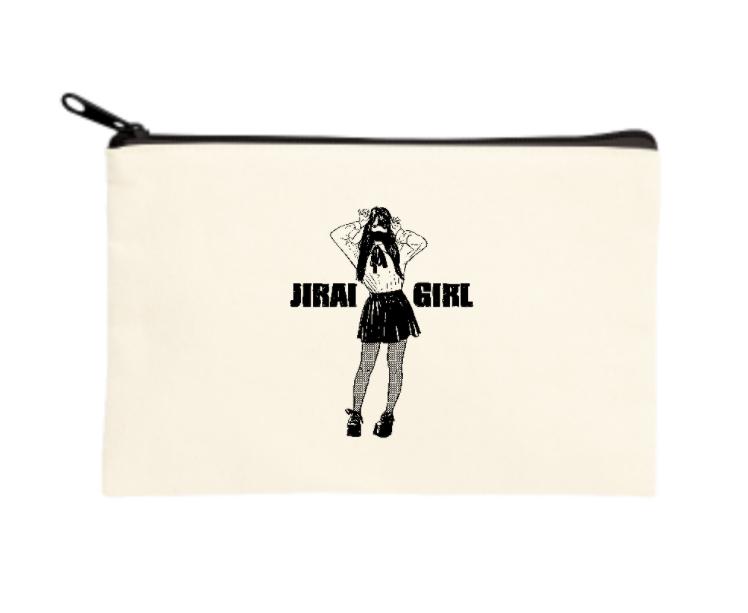 JIRAI GIRL ポーチ(S)