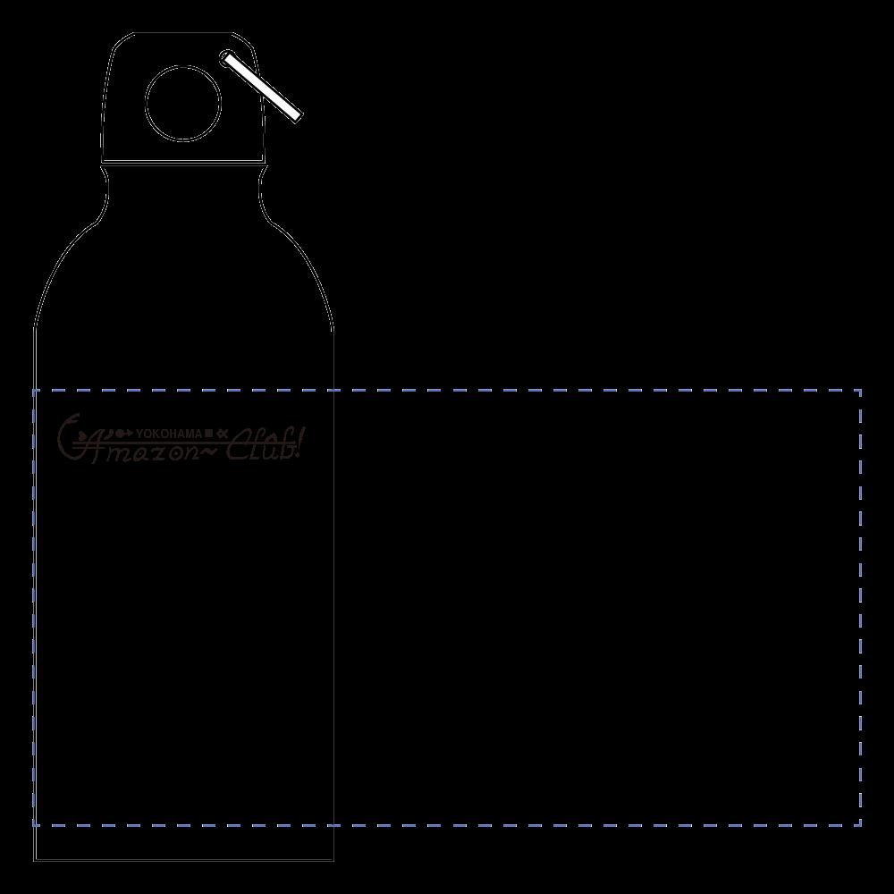 YOKOHAMA AMAZON CLUB ステンレスボトル アルミマウンテンボトル(400ml)