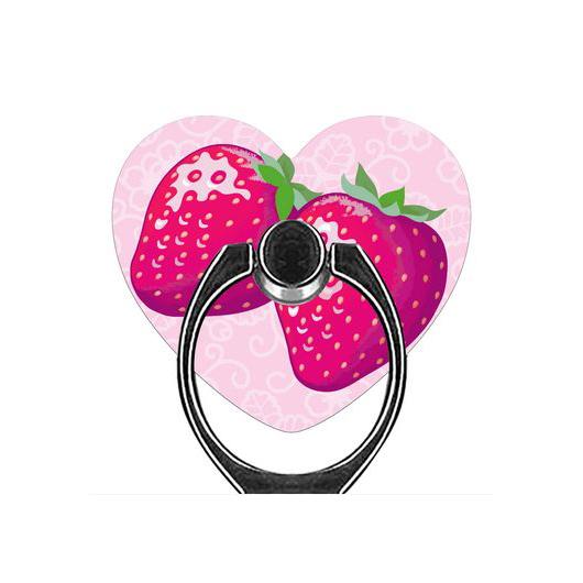 Twinkle Strawberry スマホリング スマホリング(ハート型)