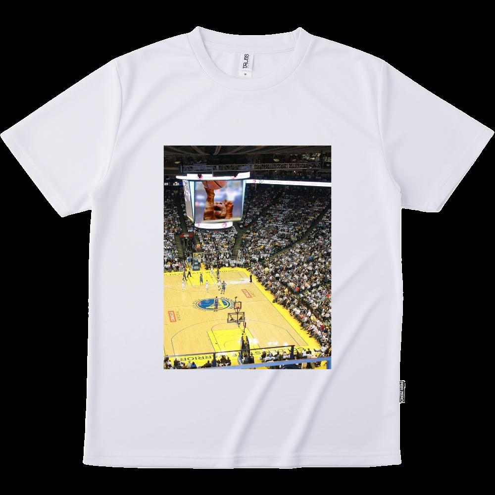 バスケットボールスーパースター リサイクルポリエステル Tシャツ