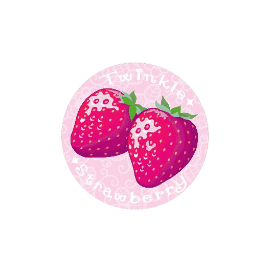 Twinkle Strawberry 44㎜缶バッジ  44㎜缶バッジ