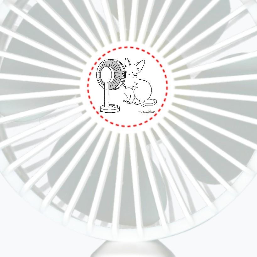 tabun Neko(扇風機)/ハンディUSBファン ハンディUSBファン