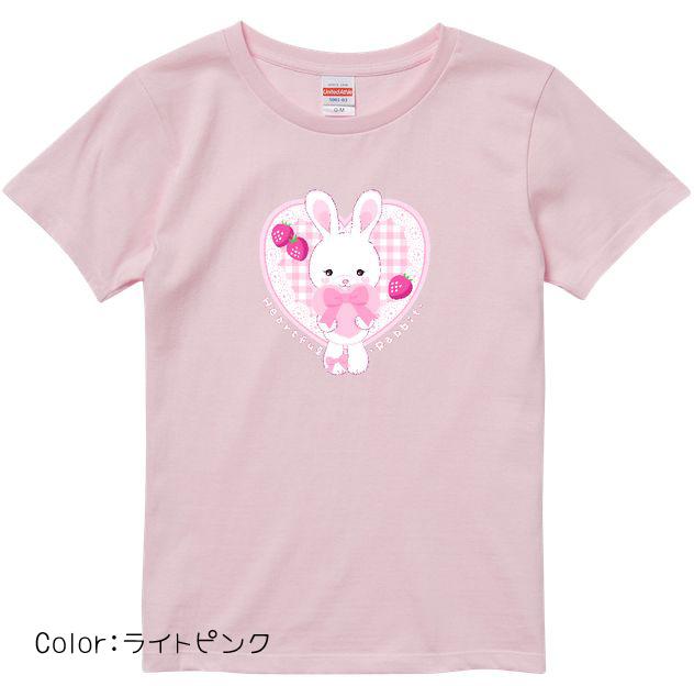Heartful Rabbit ハイクオリティーTシャツ ハイクオリティーTシャツ(ガールズ)